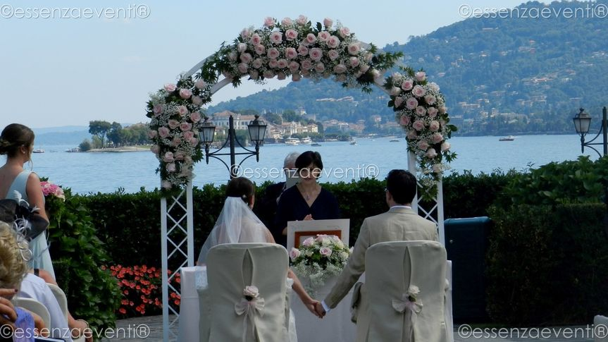 Symbolic Wedding Ceremony Lake Maggiore Italy