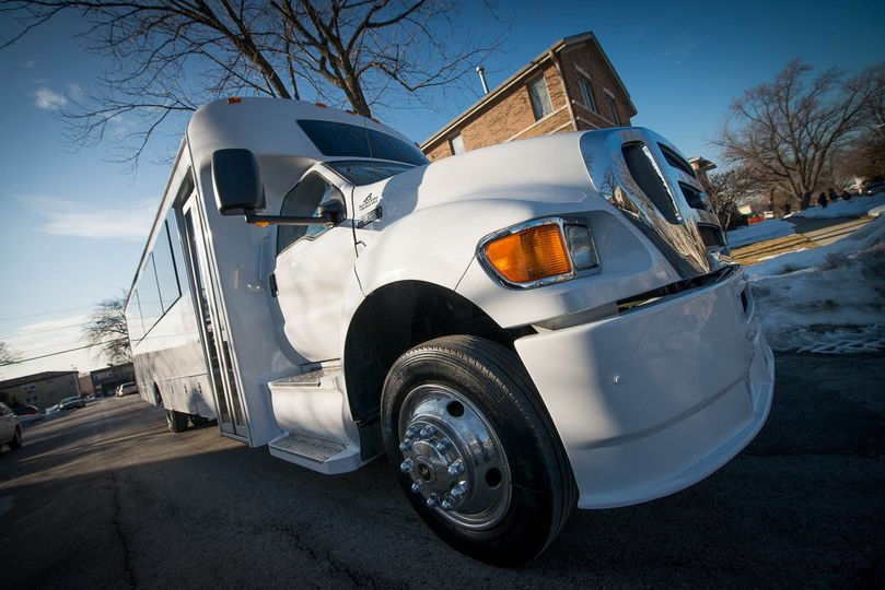 Hottest and Largest Chicago Party Bus.  UNSURPASSED Elegance and Luxury!  Fits 36 Passengers....