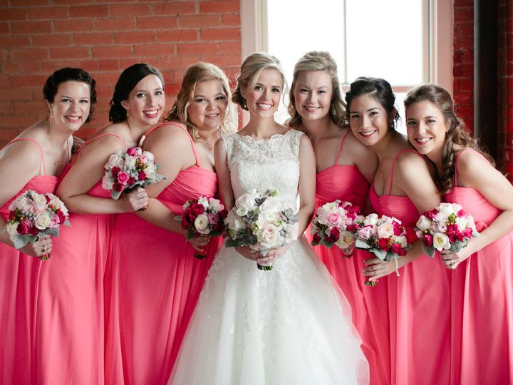 Tmx 1473868946959 Amandasbridalparty Dallas, TX wedding beauty