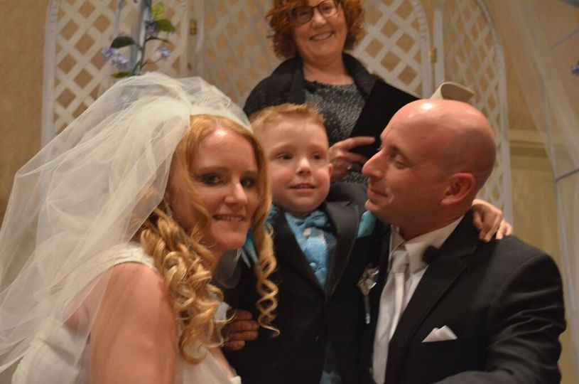 I love weddings that include children. Michael and Erin's son Carter played an important role in the...