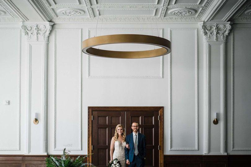 The Tea Room Des Moines Wedding