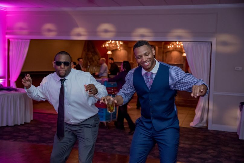 Groom's dance