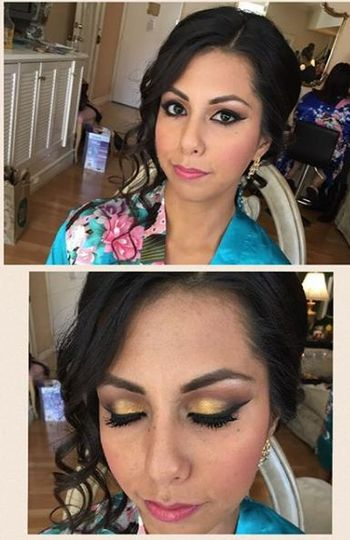 Eyeshadow details