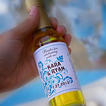 Custom labeled bottle