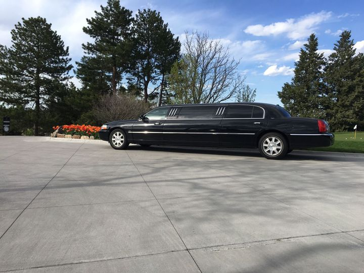 Black Lincoln Town Car Limousine