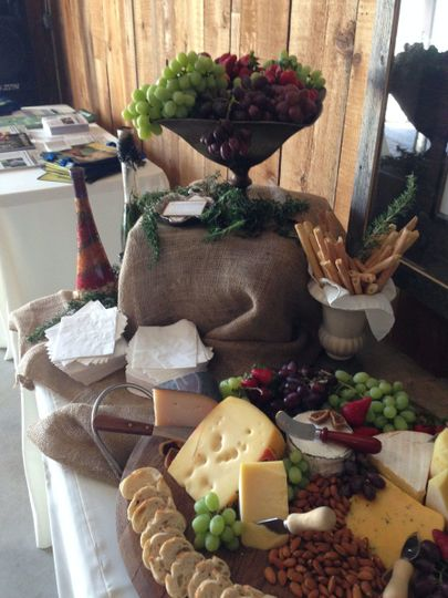 Appetizers and Displays
