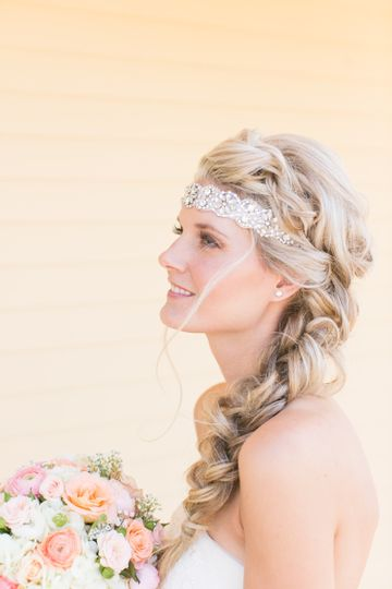 Bohemian style side braid-great style to last all day