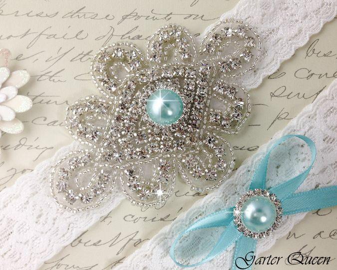 bridal garter wedding garter set white lace garterqueen 2