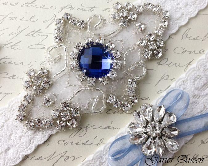 frame with star bridal garter wedding garter set white lace garterqueen 3