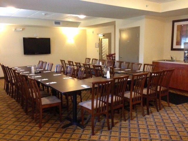 banquet room u shape