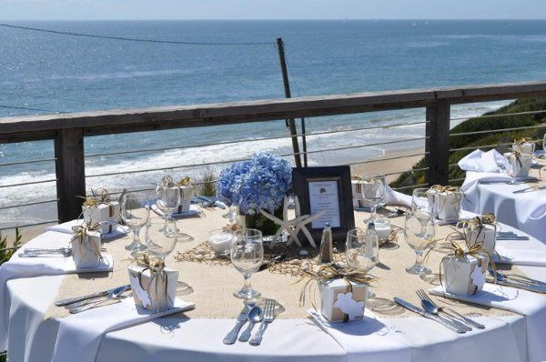 Tmx 1311711480403 White.BurlapBeachWeddingtheme Newport Coast wedding venue
