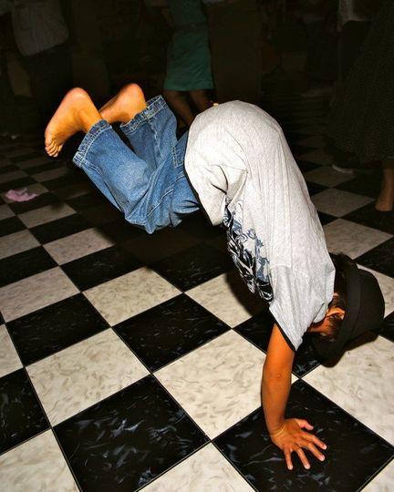 Dancing in motion