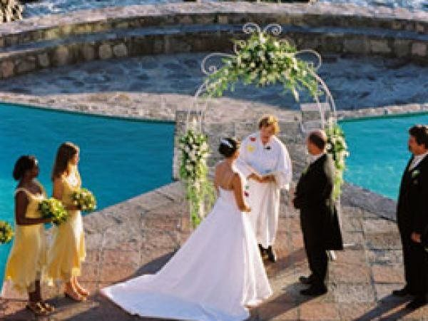 This was a destination wedding at Las Rosas Resort Encenada Baja CA