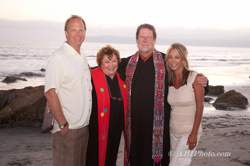 Destination Vow Renewal at Coronado Beach with Revs Pat & Kelly.