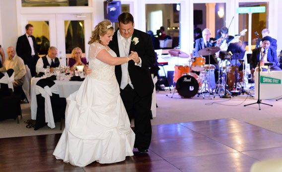 Tmx 1392655730898 Brideandgroomswin Southern Pines wedding band