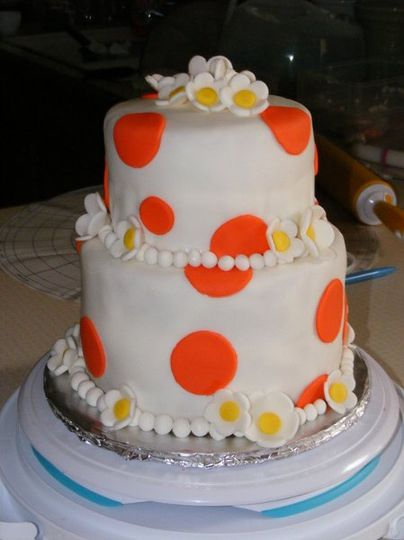 This was my first fondant covered cake. I made this as my final to complete my course through...