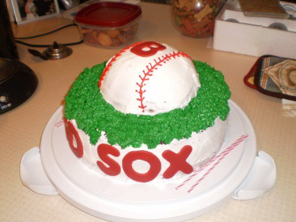 For a Boston Red Sox fans 18th birthday and could also be a great Groom's cake.