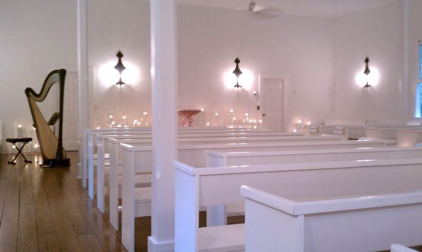 harp in church