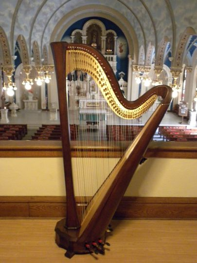 other harp in church