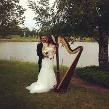 couple with harp