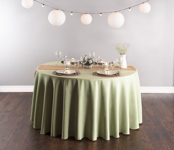 rustic reseda tablescap