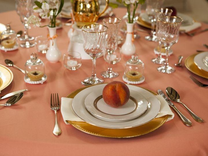 Tmx 1377900685148 Peach Wedding Inspiration 2 Portland wedding rental