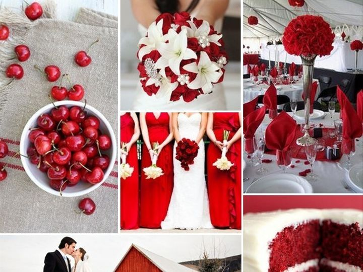 Tmx 1386792725209 Red And White Wedding Inspiration Board  Portland wedding rental