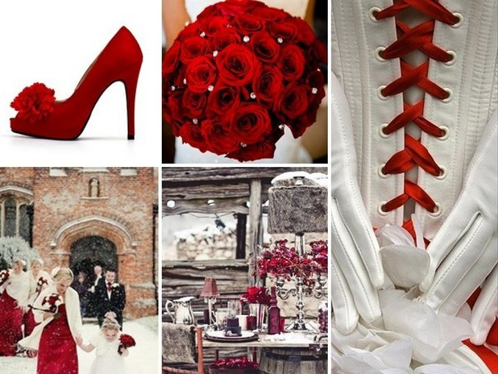 Tmx 1386792730960 Red And White Wedding Inspiration Board  Portland wedding rental