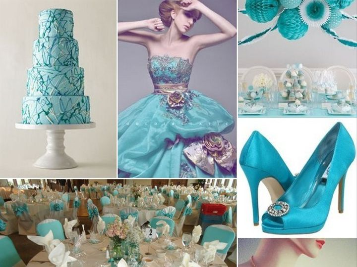 Tmx 1386793217637 Turquoise White And Silver Inspiration Board  Portland wedding rental