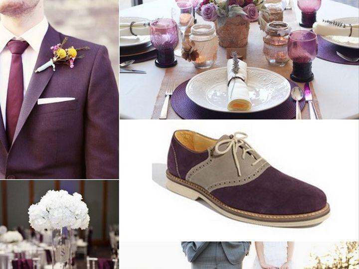Tmx 1387900691192 Eggplant And Silver Wedding Inspiration Board  Portland wedding rental