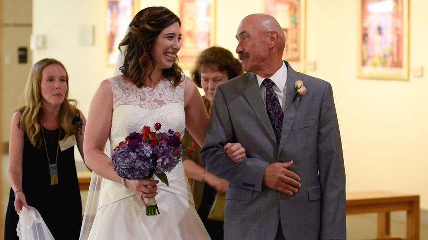 melissa and dad