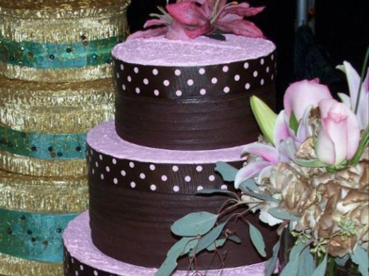 Tmx 1233787655279 PinkBrownCollection Brimfield wedding cake