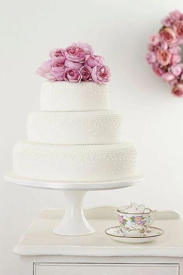 Mulitple layered cake