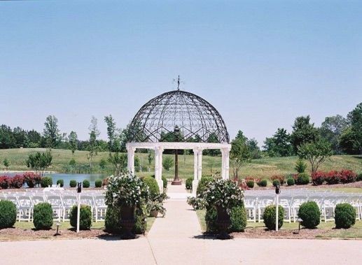 Lakeside gazebo ceremony site