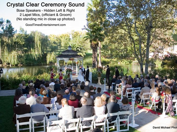 Tmx 1377484477876 Ceremony Sound North Hills wedding dj