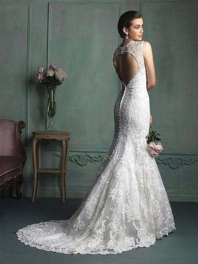 Lace weding dress