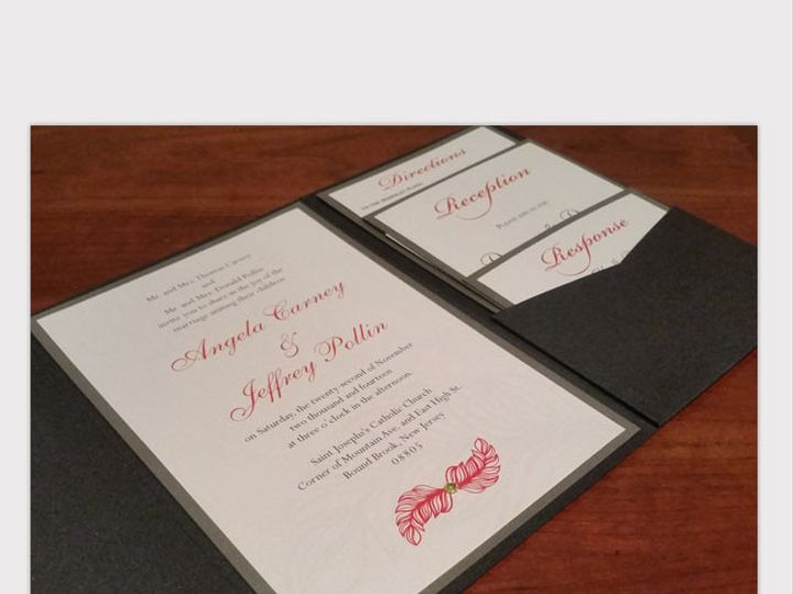 Tmx 1422582600913 Carney1 Somerville wedding invitation