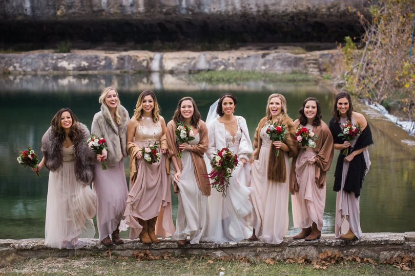 The Bridal Party by Eagle Rock