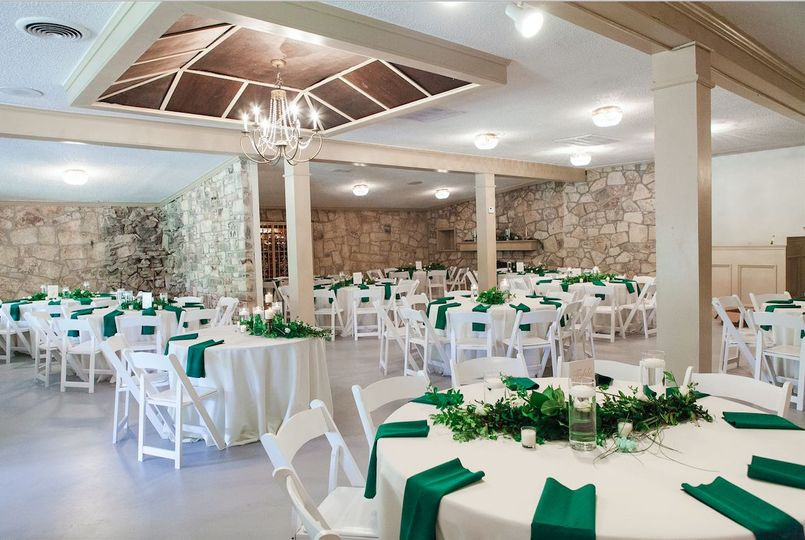 Indoor venue space