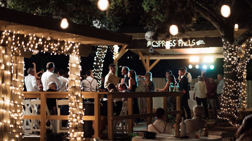 Dance the Night Away at Cypress Falls at the Huge Dance Floor