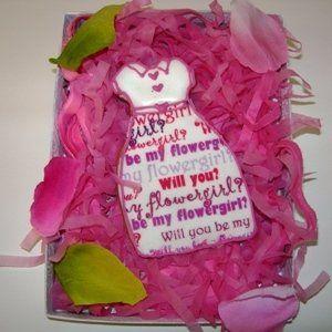 Tmx 1217740854466 Newsprintflowergirldresscookie Nashville wedding favor