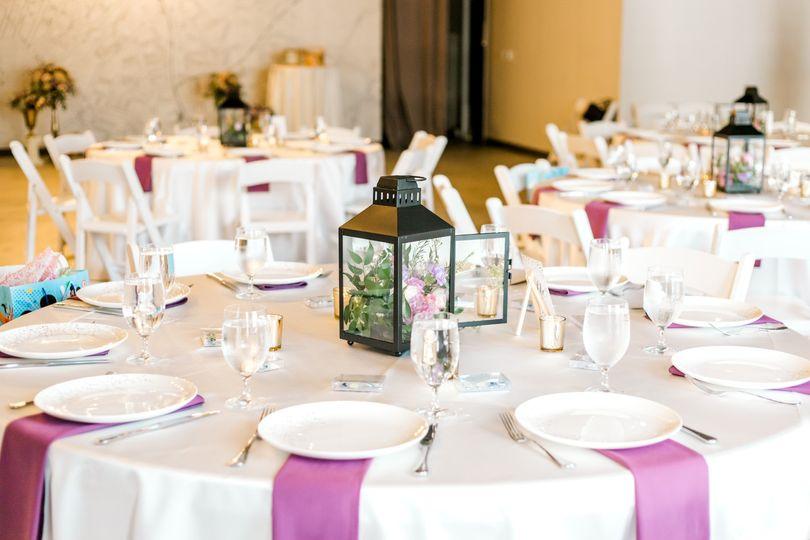 Tasteful table setting
