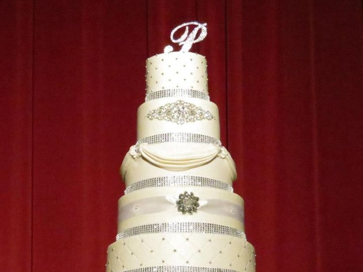 Tmx 1375995288899 1001737101530804456750321634474646n Kansas City wedding cake