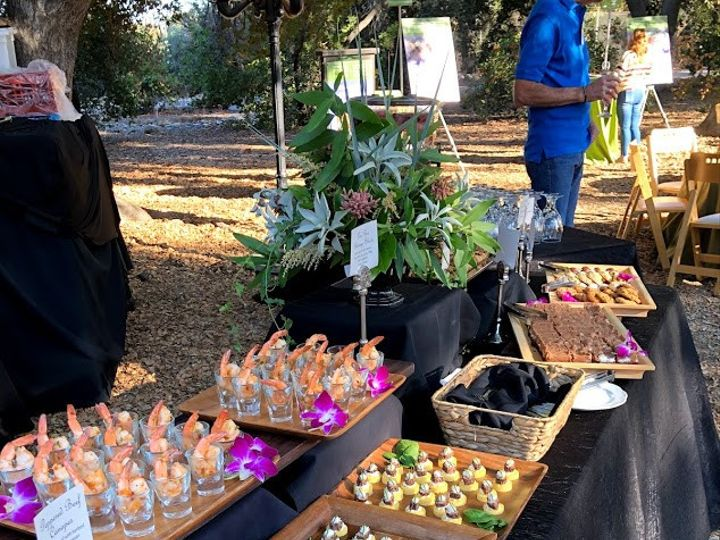 Tmx Appetizers Groundbreaking1 51 27744 157937857618798 Corona, CA wedding catering
