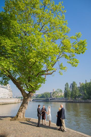 paris elopement seine riverside 001