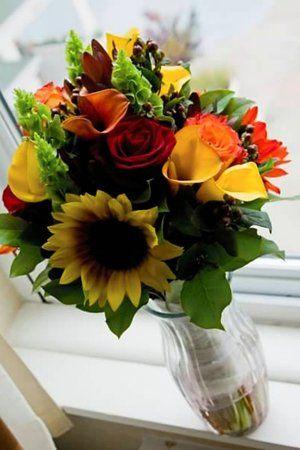Tmx 1283961155896 Sunflowerbouquet Fairfield wedding florist