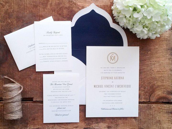 Tmx 1471798481158 Annunziata Invitation Merrimack, NH wedding invitation
