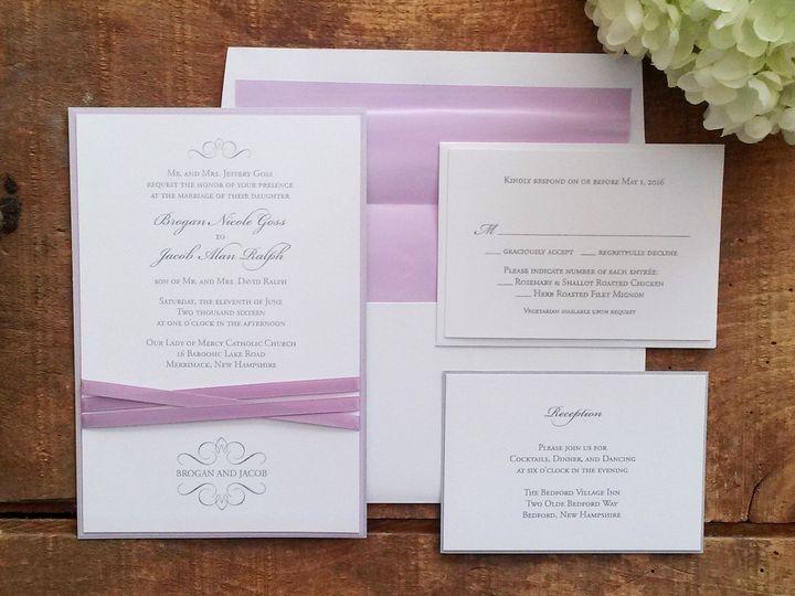Tmx 1471798526696 Goss Invitation Merrimack, NH wedding invitation
