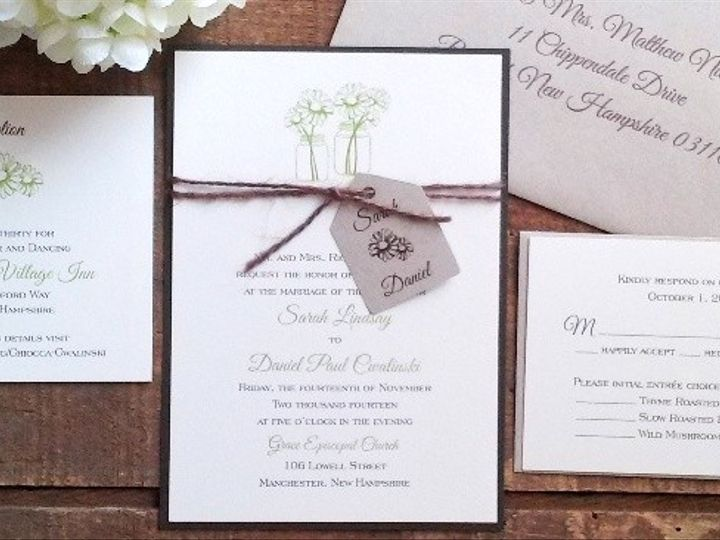 Tmx 1471798551981 Home Page 6 Merrimack, NH wedding invitation