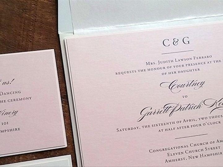 Tmx 1471798557809 Home Page 7 Merrimack, NH wedding invitation